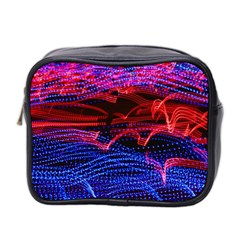 Lights Abstract Curves Long Exposure Mini Toiletries Bag 2-Side