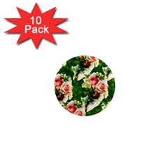 Floral Collage 1  Mini Magnet (10 pack)