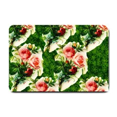 Floral Collage Small Doormat