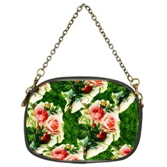 Floral Collage Chain Purses (Two Sides)