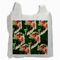Floral Collage Recycle Bag (One Side)