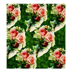 Floral Collage Shower Curtain 66  x 72  (Large)