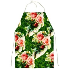 Floral Collage Full Print Aprons