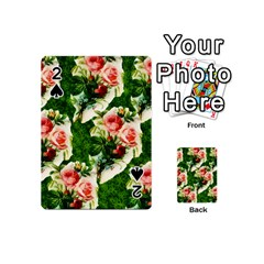 Floral Collage Playing Cards 54 (Mini)