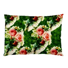 Floral Collage Pillow Case (Two Sides)