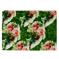 Floral Collage Cosmetic Bag (XXL)