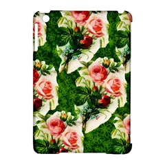 Floral Collage Apple Ipad Mini Hardshell Case (compatible With Smart Cover)