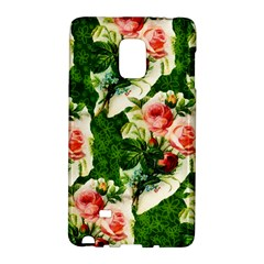 Floral Collage Galaxy Note Edge