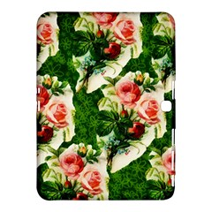 Floral Collage Samsung Galaxy Tab 4 (10.1 ) Hardshell Case