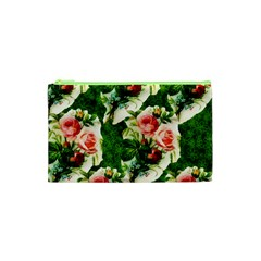 Floral Collage Cosmetic Bag (XS)