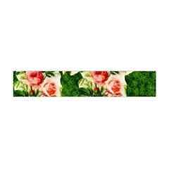 Floral Collage Flano Scarf (Mini)