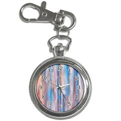 Vertical Abstract Contemporary Key Chain Watches