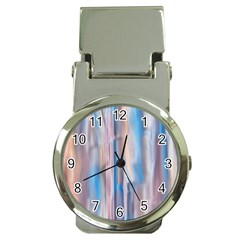 Vertical Abstract Contemporary Money Clip Watches