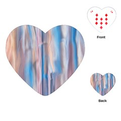 Vertical Abstract Contemporary Playing Cards (Heart)