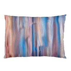 Vertical Abstract Contemporary Pillow Case
