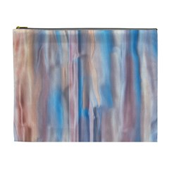 Vertical Abstract Contemporary Cosmetic Bag (XL)