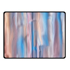 Vertical Abstract Contemporary Fleece Blanket (Small)