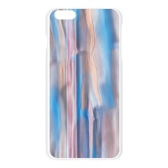 Vertical Abstract Contemporary Apple Seamless iPhone 6 Plus/6S Plus Case (Transparent)