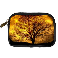Moon Tree Kahl Silhouette Digital Camera Cases