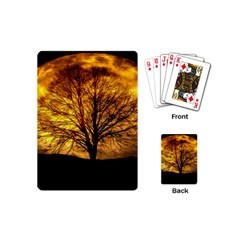 Moon Tree Kahl Silhouette Playing Cards (Mini)
