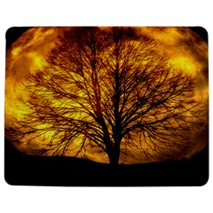 Moon Tree Kahl Silhouette Jigsaw Puzzle Photo Stand (Rectangular)
