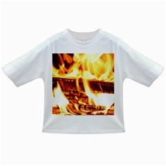 Fire Flame Wood Fire Brand Infant/Toddler T-Shirts