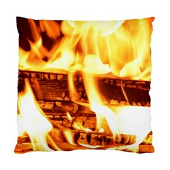 Fire Flame Wood Fire Brand Standard Cushion Case (Two Sides)