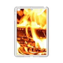 Fire Flame Wood Fire Brand iPad Mini 2 Enamel Coated Cases