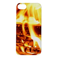 Fire Flame Wood Fire Brand Apple iPhone 5S/ SE Hardshell Case
