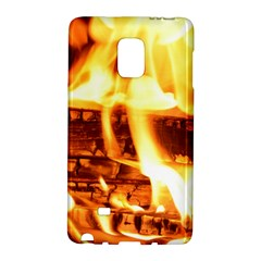 Fire Flame Wood Fire Brand Galaxy Note Edge