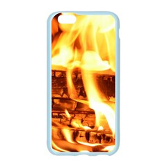 Fire Flame Wood Fire Brand Apple Seamless iPhone 6/6S Case (Color)