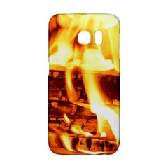 Fire Flame Wood Fire Brand Galaxy S6 Edge