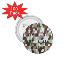 Pattern Triangles Random Seamless 1.75  Buttons (100 pack)