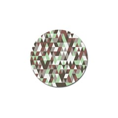 Pattern Triangles Random Seamless Golf Ball Marker (4 pack)