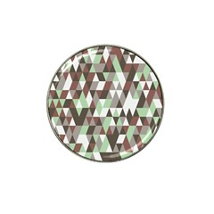 Pattern Triangles Random Seamless Hat Clip Ball Marker (10 Pack)
