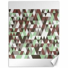 Pattern Triangles Random Seamless Canvas 12  x 16