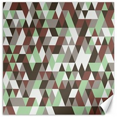 Pattern Triangles Random Seamless Canvas 20  x 20