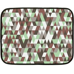 Pattern Triangles Random Seamless Fleece Blanket (Mini)
