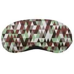 Pattern Triangles Random Seamless Sleeping Masks