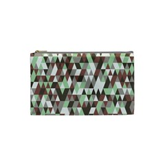Pattern Triangles Random Seamless Cosmetic Bag (Small)