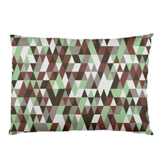 Pattern Triangles Random Seamless Pillow Case (two Sides)