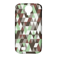 Pattern Triangles Random Seamless Samsung Galaxy S4 Classic Hardshell Case (PC+Silicone)