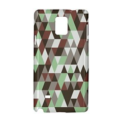 Pattern Triangles Random Seamless Samsung Galaxy Note 4 Hardshell Case
