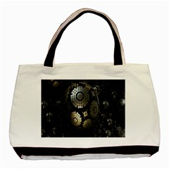 Fractal Sphere Steel 3d Structures Basic Tote Bag (Two Sides)