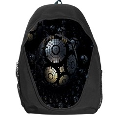 Fractal Sphere Steel 3d Structures Backpack Bag