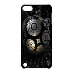 Fractal Sphere Steel 3d Structures Apple iPod Touch 5 Hardshell Case with Stand