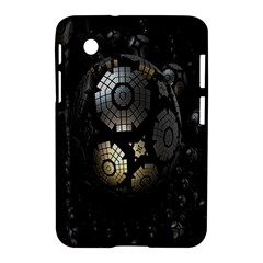 Fractal Sphere Steel 3d Structures Samsung Galaxy Tab 2 (7 ) P3100 Hardshell Case