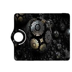 Fractal Sphere Steel 3d Structures Kindle Fire HDX 8.9  Flip 360 Case