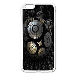 Fractal Sphere Steel 3d Structures Apple iPhone 6 Plus/6S Plus Enamel White Case