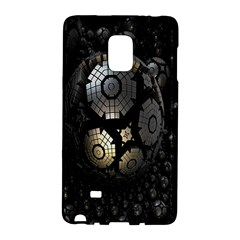 Fractal Sphere Steel 3d Structures Galaxy Note Edge